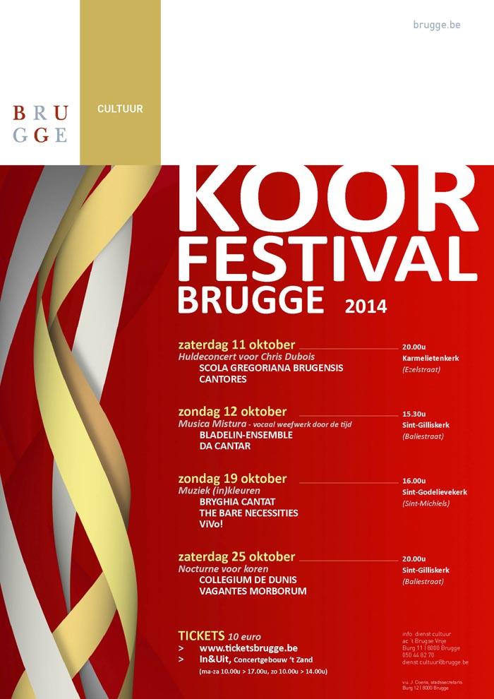 Affiche Koorfestival 2014